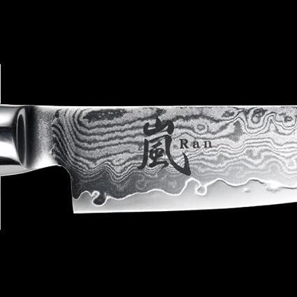 25,5 Coltello giapponese damascato Yaxell Serie RAN Filettare cm