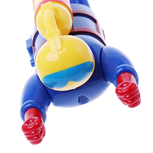 Clockwork Wind Up Swimming Diving Scuba Diver Children Bath Toy Game