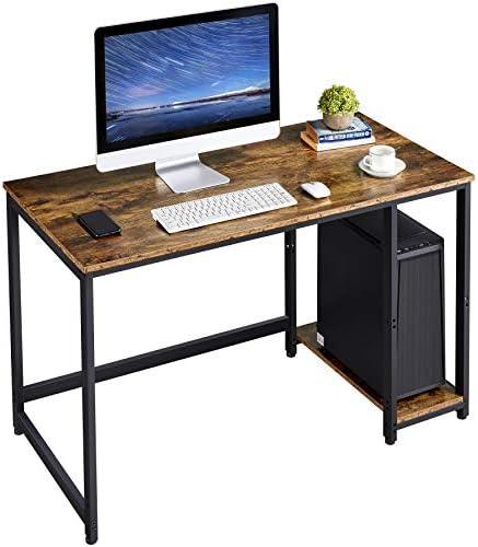 YAHEETECH Industrial Computer Desk