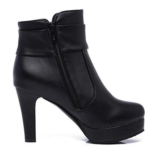 EU 5 AdeeSu 38 Femme Noir Plateforme SXC02552 OwwZqX