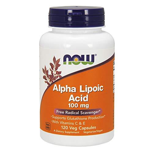 Now Alpha Lipoic Acid 100 mg,120 Veg Capsules