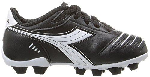 Diadora Kids' Cattura MD Jr Soccer Shoe, Black/White, 11 M US Little Kid by Diadora (Image #7)