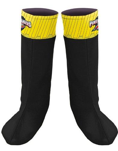 Disney Power Ranger Costumes (Black Ranger Boot Covers)