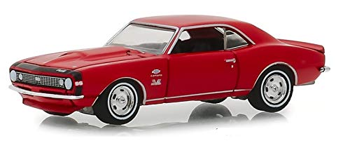 Greenlight 13230-A Muscle Series 21-1967 Chevrolet Yenko Camaro - Rally Red 1:64 Scale