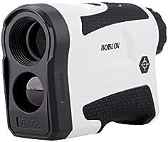 BOBLOV 650Yards Golf Rangefinder with Pinsensor 6X Magnification Distance Speed Measurement Range Finders Pluse...
