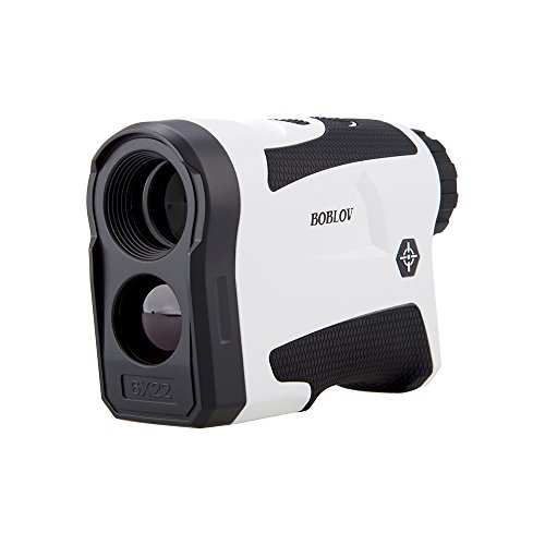 BOBLOV 650Yards Golf Rangefinder with Pinsensor Support Vibration On/Off and USB Charging Flag Lock Distance Speed Measurement Range Finder (LF600G Without Slope) (LF600G Without Slope) (Best Golf Rangefinder Under 100)