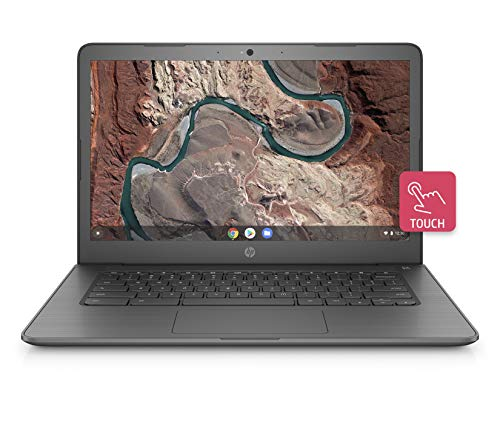 HP Chromebook 14-inch Laptop with 180-degree Hinge, Touchscreen Display, AMD Dual-Core A4-9120 Processor, 4 GB SDRAM, 32 GB eMMC Storage, Chrome OS (14-db0060nr, Chalkboard ()