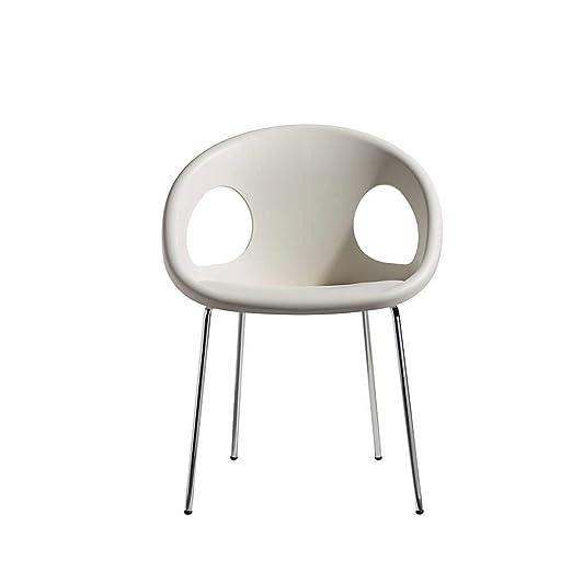 Scab Set 2 Design Drop sillón 4 Patas cromadas y Asiento de ...