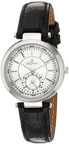 Burgmeister Women's Quartz Metal and Leather Casual Watch, Color:Black (Model: BM336-182)