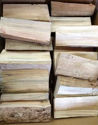 Brennholz 30 kg bis 510 kg 60 vorgetrocknet Kaminholz 25 cm L/änge ca Feuerholz