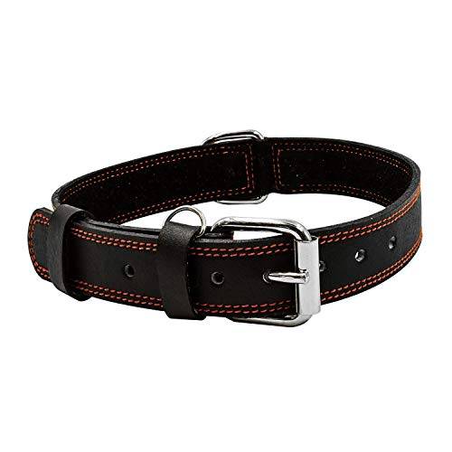 - The Leather Kings Leather Dog Collar | Neck 18