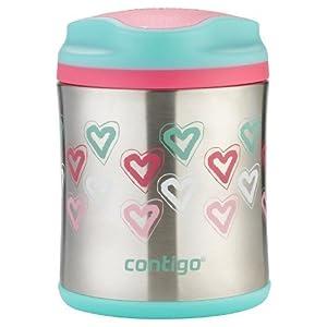 Contigo Food Jar 10oz-Heart Pattern