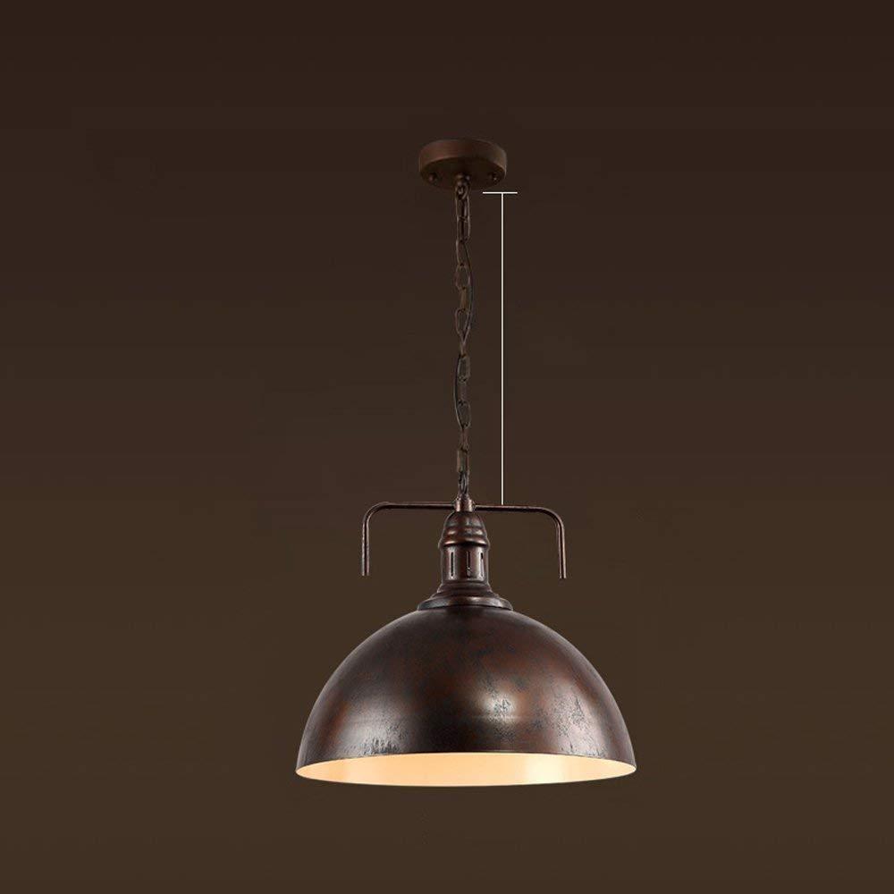 AME Beleuchtung Kronleuchter Retro Industrial Wind Eisen Bar Cafe Loft einen Kronleuchter von A ++ (Rostige) Farbe