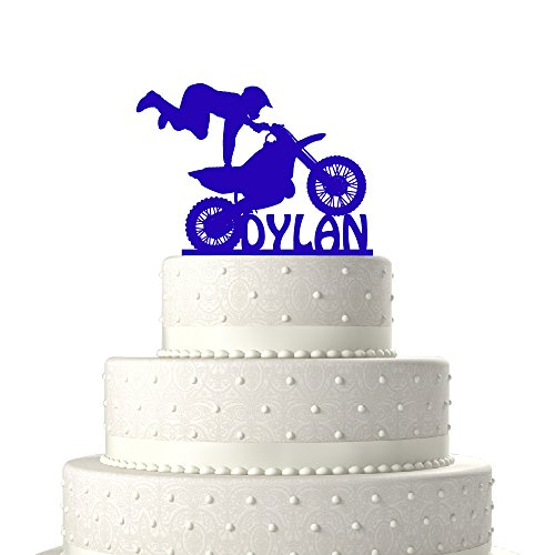 Super Motocross Cake Toppers Shop Motocross Cake Toppers Online Funny Birthday Cards Online Alyptdamsfinfo