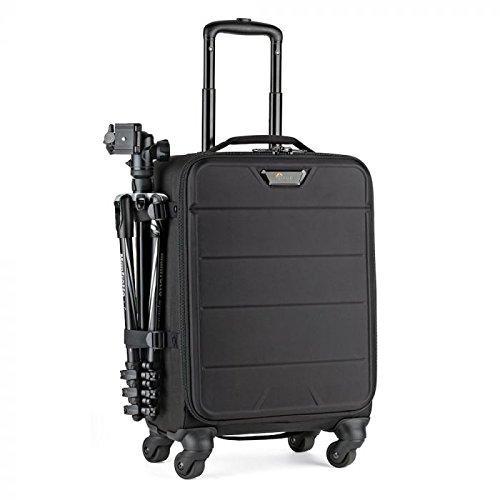 Lowepro PHOTOSTREAM SP 200 Black Trolley Case - Camera Cases and Covers (Trolley Case, Universal, Compartment for Notebook, Black)