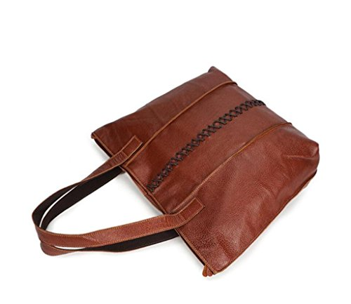 Leisure Travel Bag Bag Work Messenger Shoutibao Bag Shoulder Capacity Leather Shopping Fashion Large PwTxPtIAq