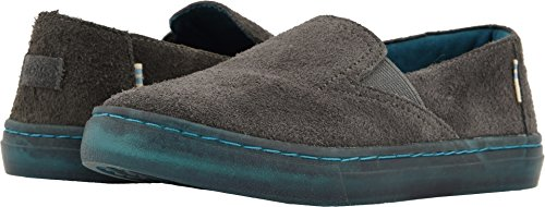 TOMS Kids Unisex Luca (Little Kid/Big Kid) Shade Shaggy Suede Water Resistant 1 M US Little Kid