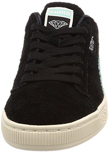 Noir Turquoise Puma Diamond Suede Chaussures ZIwSPxtvqP
