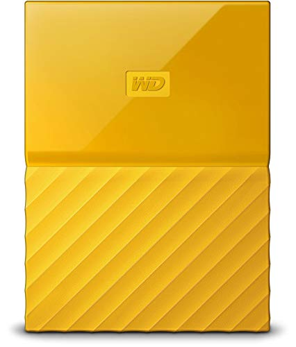 PC Hardware : WD 3TB Yellow My Passport  Portable External Hard Drive - USB 3.0 - WDBYFT0030BYL-WESN
