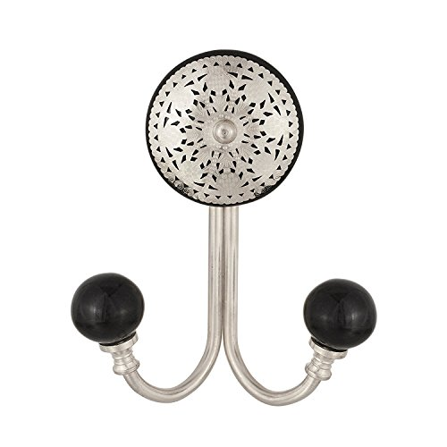 Decorative Vintage Black Wall Hook Key Holders Coat Hangers Bath Towel Hook Holder Home Decor Bathroom Accessories (Distressed Bronze Robe Hook)