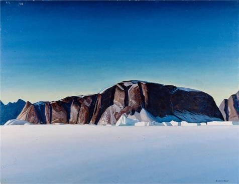 Oil Painting 'Greenland Coast,1931 By Rockwell Kent' Printing On Polyster Canvas , 20x26 Inch / 51x66 Cm ,the Best Wall Art Decor And Home Gallery Art And Gifts Is This Beautiful Art Decorative Prints On Canvas