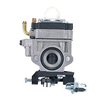 AiCheaX - Carburetor para 2 tiempos de 23 cc 26 cc 33 cc motor 33 ...