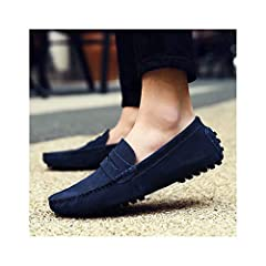Upper Material:FlockFeature:BreathableClosure Type:Slip-OnOutsole Material:RubberLining Material:PUModel Number:men shoesSeason:SummerInsole Material:PUPattern Type:Mixed ColorsFit:Fits true to size, take your normal sizeShoes Type:LoafersNam...