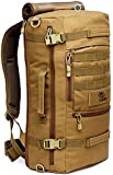[Brown]Outdoor Sport Camping Hiking Trekking Bag Military Tactical Shoulder Bag
