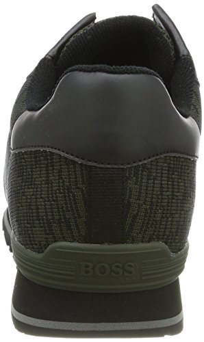 Boss Green Parkour_runn Mens Sneakers Grönt
