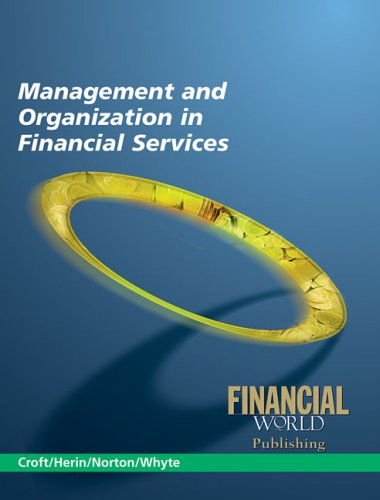 Management and Organization in Financial Services pdf