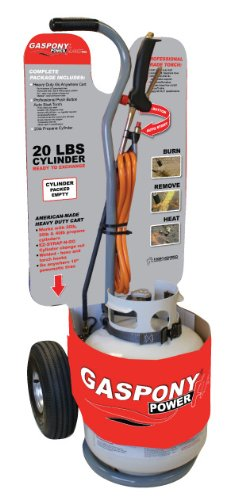 (Gaspony Power Flame Propane Torch - 500,000 BTU, Model# TB-PFP)