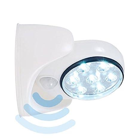 Shop Story - Lámpara LED inalámbrico con sensor de movimiento giratorio de 360 ° interior exterior: Amazon.es: Iluminación