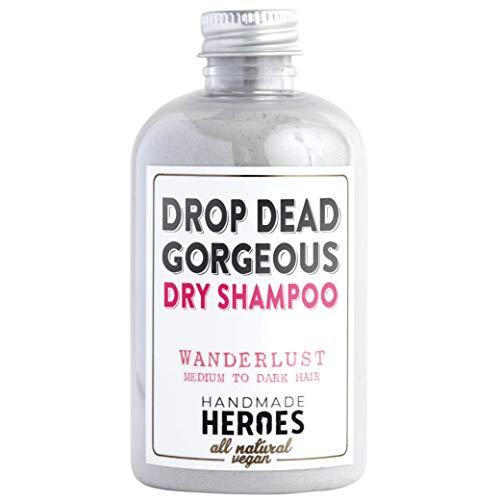 All Natural, Vegan Dry Shampoo Powder - For Medium...