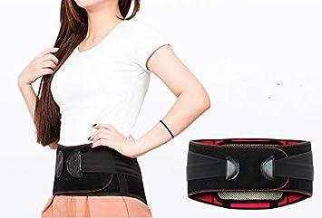 Yukefeng Premium calidad espalda Brace cm-105 con almohadilla lumbar extraíble para alivio del dolor
