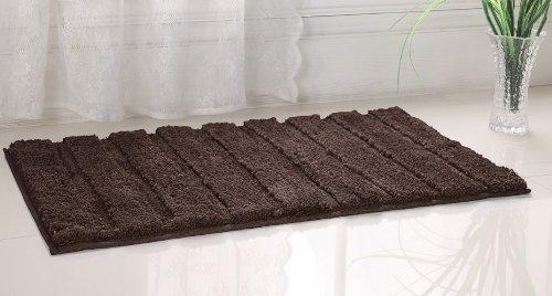 Wonderful Amazon.com: Westbrook High Pile Microfiber Bath Rug 21x34 Brown By Bed In