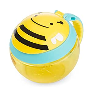Skip Hop Zoo Toddler  Snack Cup, Bee