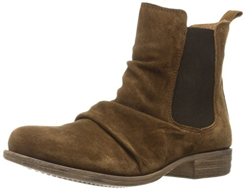 Miz Mooz Womens Lissie Ankle Boot Taupe Suede CtQJ8
