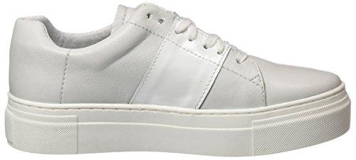 specchio Basses Biz Shoe Sneakers Femme Blanc Silver Hanne Ytwxv