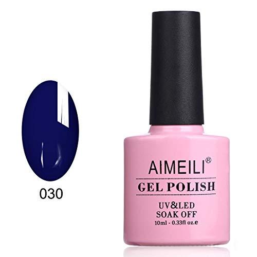 midnight blue gel nail polish