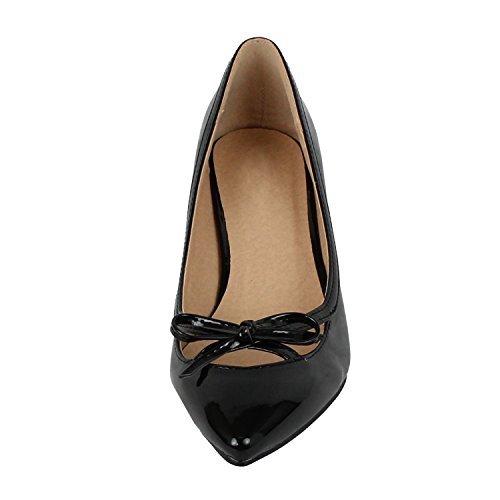 kitten heel womens dress shoes - 1