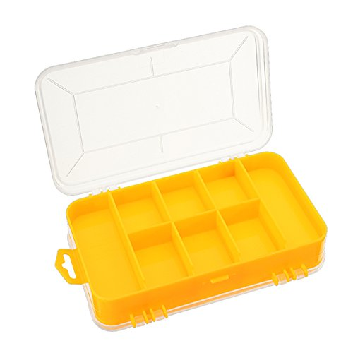 Tool Organizers Double Tool Box Electronic Plastic Parts Toolbox Casket SMD SMT Screw Component Storage Box