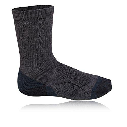 Teko SIN3RGI Midweight Hiking Socks - Small - Black