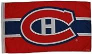Montreal Canadiens NHL Hockey Logo Large 93 x 155 cm Flag Banner.New