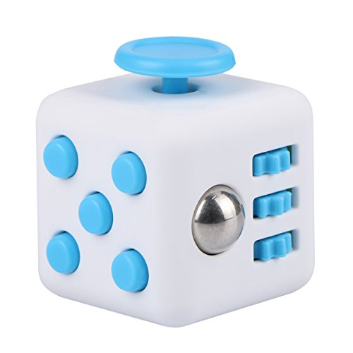 Evermarket Fidget Cube EDC Toys Relieves Stress and Anxiety