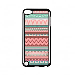 Pastel Turquoise And Pink Tribal Aztec Pattern Black Hard Plastic Case Snap-On Protective Back Cover for Apple? iPod Touch 5th Gen by UltraCases + FREE Crystal Clear Screen ProtectorKimberly Kurzendoerfer
