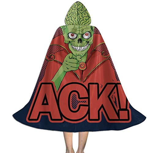 Mars Attacks Martian ACK Unisex Kids Hooded