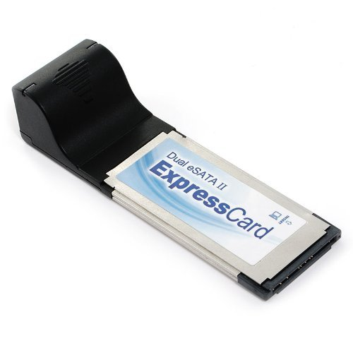 - Dual eSATA II ExpressCard Adapter for Laptop/Notebook and Desktop Computers