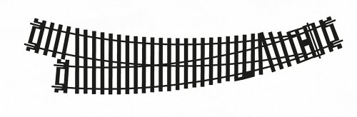 Hornby HO/OO Gauge R8075 Right-Hand Curved Point, 2nd Radius, 22.5 and 33.75-Degree