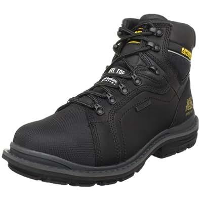 Caterpillar Men's Manifold Tough Waterproof Boot,Black,7 M US