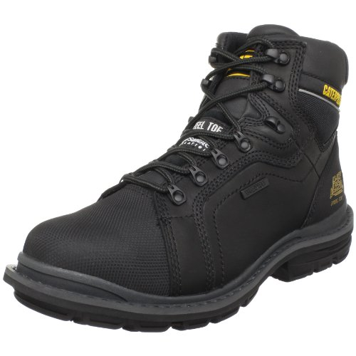 Caterpillar Men's Manifold Tough Waterproof Boot,Black,13 M US